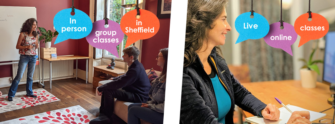 Beginner Spanish classes in Sheffield and online